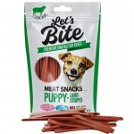 Brit Care Let's Bite Dog Meat Snacks Puppy Lamb Stripes