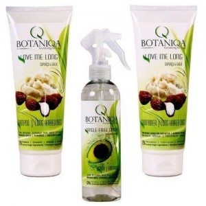 Botaniqa Love Me Long + Tangle Free Zestaw