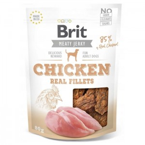 Brit Meaty Jerky Snack filet z kurczaka - chicken fillet