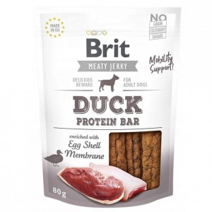 Brit Meaty Jerky Snack Protein Bar kaczka - duck 80g