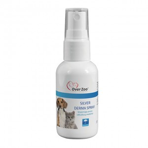Over Zoo Silver Derma Spray Odbudowa Naskórka 50ml