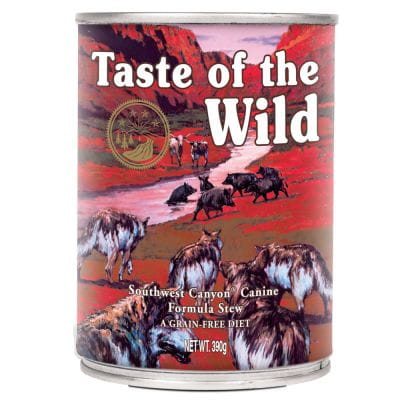 Taste of the Wild Southwest Canyon 390g www.swiatshihtzu.pl.jpg